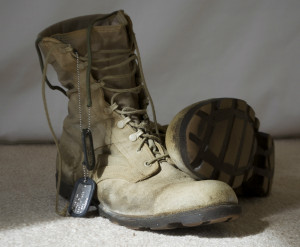 boots and dogtags